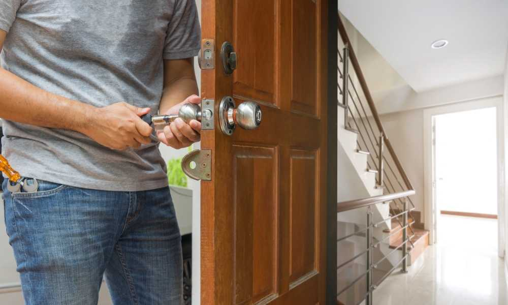 How to Put a Lock on a Door Without Drilling